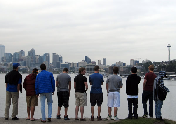 Group of Young Adults in Seattle